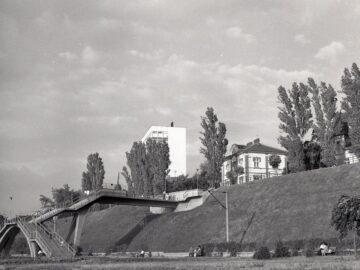 Русенският кей преди близо половин век