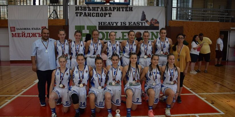 """Девойките на СКБ """"Дунав - Русе - 2016"""" със сребърни медали от финала този следобед"""