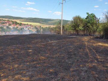Голям пожар гори край Баниска