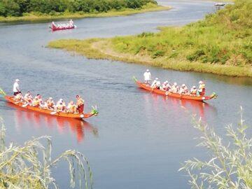 Русенските кануисти спечелиха днес първата гонка от фестивала на драконови лодки