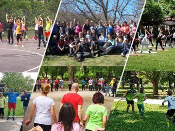 """Много спорт с инициативите по проект """"100 дни спорт"""", реализиран от Сдружение """"Русе Гоу"""""""