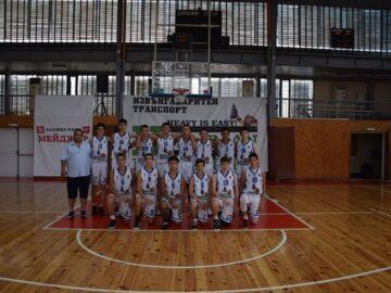 """Юношите U16 на СКБ """"Дунав - Русе - 2016"""" останаха девети на финалите в Пловдив"""