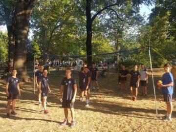 """Юношите на ВК """"Дунав"""" - Русе се включиха в инициативата """"100 дни спорт в Русе"""""""