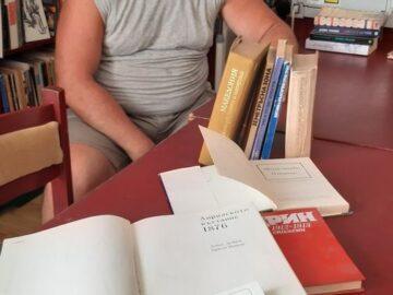 Ново дарение за библиотеката на Военния клуб в Русе