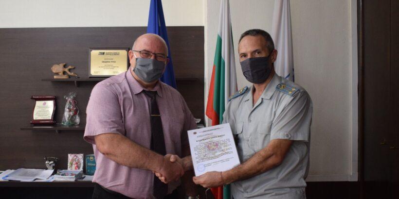 Военно окръжие – Русе изказа признателност към Общината за успешната им съвместна дейност