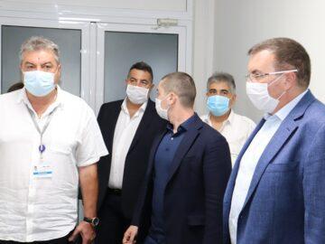 Министърът на здравеопазването в Русенско: Няма опасност за гражданите на град Русе и областта по отношение на ресурсната обезпеченост относно COVID-19