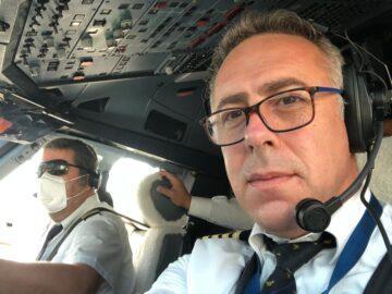 Кандидатът за кмет на Община Гюргево от националнолибералната партия приземи самолет с пътници в Рим на рожденния си ден