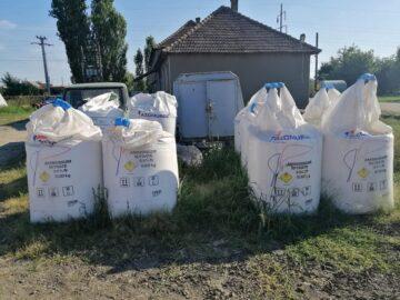 6 склада с амониев нитрат в Окръг Гюргево контролира Окръжният инспекторат за извънредни ситуации
