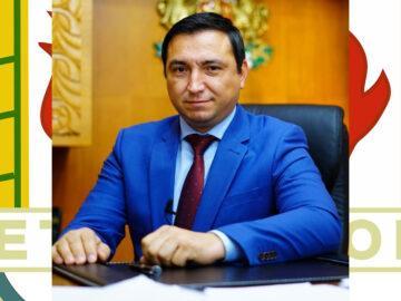 Кметът на Община Ветово д-р Мехмед Мехмед