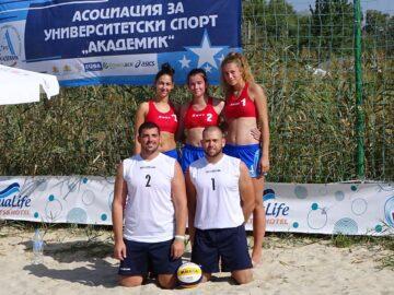 Отлично представяне на студентите спортисти на Русенския университет на Летните университетски спортни игри в Кранево