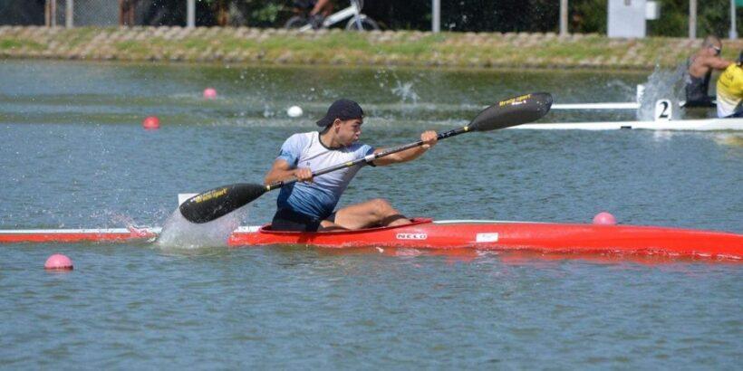 Преслав Симеонов девети на К1 1000 метра на състезанието Олимпик Хоупс