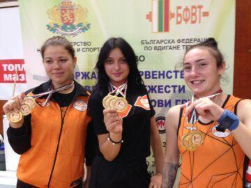 Русенски щангисти с нови призови места от държавния личен шампионат