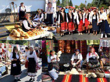 Приветствие към възрастните хора от читалището в Борово