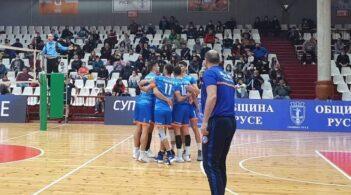 ЦСКА се класира за първата осмица на Суперлигата след победа над ВК Дунав