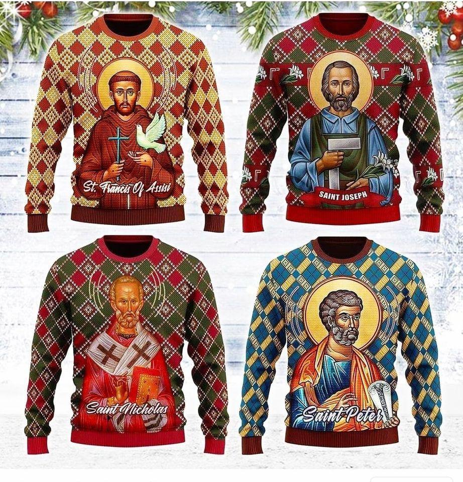Пуловери и маски с религиозни изображения срещу коронавирус продават в Гюргево